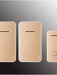 Недорогие -Фабрика oem wireless wi-fi 433 МГц один-два дверных звонка музыка / дин-дон невизуальная шестиступенчатая регулировка громкости 48 музыкальных мелодий 48 музыкальных мелодий дверной звонок
