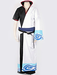cheap -Inspired by Gintama Cosplay Anime Cosplay Costumes Japanese Cosplay Suits Pattern More Accessories Costume For Men's Women's