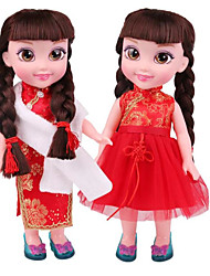 cheap -Girl Doll Fashion Doll Talking Toy Baby Girl 14 inch Smart lifelike Kids / Teen Kid's Unisex Toy Gift