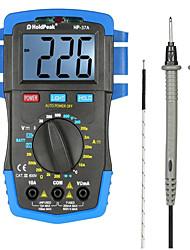 Недорогие -Holdpeak HP-37A мини-профессиональный мультиметр ручной цифровой мультиметр AC DC тестер напряжения сопротивления дисплей 1999
