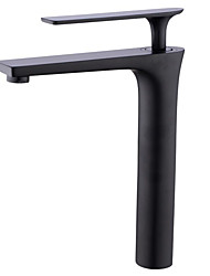 cheap -Bathroom Sink Faucet - New Design Painted Finishes Deck Mounted Single Handle One HoleBath Taps