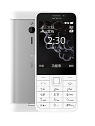 "cheap -NOKIA 230ds 2.8 inch "" Cell Phone (+ 2 mp Other 1200 mAh mAh)"