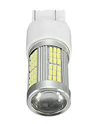 cheap -35W 2400Lm Xenon White High Power 102-SMD LED Daytime Running Light Bulb For Fiat 500