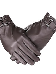 cheap -Full Finger Men's Motorcycle Gloves Leather Touch Screen / Warm / Non Slip