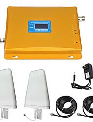 Недорогие -2g / 3g мобильный усилитель сигнала усилитель сигнала усилитель сигнала 900/2100 двухдиапазонный GSM / WCDMA