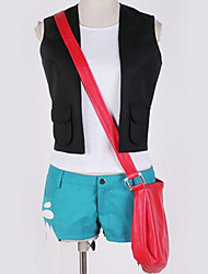cheap -Inspired by Cosplay Cosplay Anime Cosplay Costumes Japanese Cosplay Suits Solid Colored Vest / Top / Bag For Men's / Women's