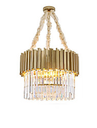 cheap -QIHengZhaoMing 4-Light 52 cm Chandelier Crystal Electroplated Traditional / Classic 110-120V / 220-240V