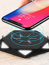 cheap -Wireless Charger USB Charger USB Wireless Charger / Qi 1 USB Port 0.5 A DC 5V for iPhone X / iPhone 8 Plus / iPhone 8