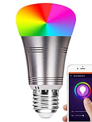 abordables -e27 7w led smart wifi ampoules 22 led perles smd 5730 fonctionne avec amazon alexa / contrôle de l'application / google home rgbw 85-265v