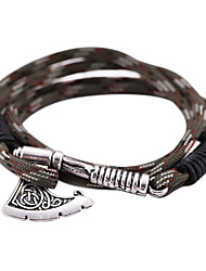 cheap -Wrap Bracelet Charm Halloween New Year's Alloy For Thor Pirate Viking Cosplay Men's Women's Costume Jewelry Fashion Jewelry