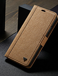 cheap -Case For Apple iPhone XS / iPhone XR / iPhone XS Max Wallet / Card Holder / with Stand Full Body Cases Solid Colored Hard TPU / DIY
