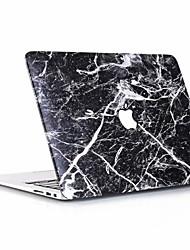"""abordables -MacBook Etuis Marbre PVC pour MacBook Pro 13 pouces / New MacBook Air 13"""" 2018"""