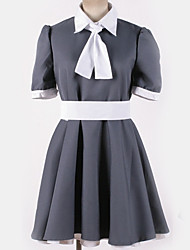 cheap -Inspired by Cosplay Cosplay Anime Cosplay Costumes Japanese Cosplay Suits Contemporary Cravat Top Skirt For Men's Women's / Dress / Dress