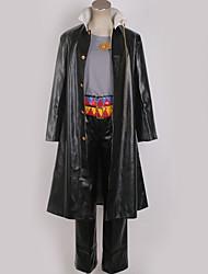 Недорогие -Вдохновлен Bizarre Adventure JoJo в Jotaro Kujo Аниме Косплэй костюмы Японский Косплей Костюмы Современный стиль Пальто / Кофты / Брюки Назначение Муж. / Жен.