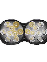 cheap -30W 18 LED 9/85V 3000Lm 6000K Aluminium Alloy Motorcycle Headlights