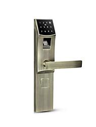 cheap -HOLISHI® Smart Lock Combination Lock Fingerprint Lock/Zinc Alloy lock/Smart Home Security System RFID / Fingerprint unlocking / Password unlocking Household / Home/Office