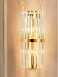 cheap -Creative Wall Lamps Wall Sconces Crystal Wall Light 220-240V 40 W / E14 / CE Certified