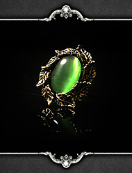 cheap -Adjustable Ring Gothic Artificial Gemstones Alloy For Vampire Dracula Steampunk Cosplay Men and Women Costume Jewelry Fashion Jewelry / 1 Ring