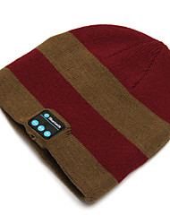 cheap -Motorcycle Warm Knitting Hat Music Cap Headset Ecouteur Mic with Bluetooth Function