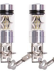 cheap -OTOLAMPARA 2pcs BA15S(1156) / P21W / P21/5W Car Light Bulbs 100 W SMD 335 2200 lm 20 LED Fog Lights For Volkswagen / Honda Fit / Touareg 2019