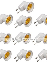 cheap -E27 Screw With Switch Lamp Holder European Standard 10 pc