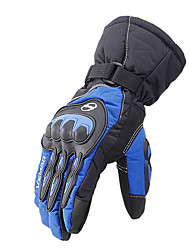 cheap -Full Finger Unisex Motorcycle Gloves Double Layer Cloth / Flannel / Nonwoven Keep Warm / Wearproof / Non Slip
