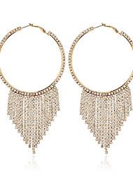 cheap -Women's Drop Earrings Classic Stylish Geometric Imitation Diamond Earrings Jewelry Gold / Black / Silver For Wedding Party Date 1 Pair
