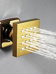 cheap -Contemporary Rain Shower Antique Brass Feature - Shower, Shower Head