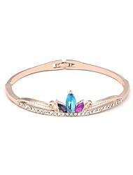 cheap -Women's Bracelet Bangles Classic Stylish Alloy Bracelet Jewelry White / Purple / Light Blue For Party Ceremony Masquerade