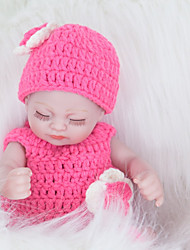cheap -FeelWind Reborn Doll Girl Doll Baby Girl 12 inch Full Body Silicone Silicone Vinyl - lifelike Handmade Cute Child Safe Kids / Teen Non Toxic Kid's Unisex Toy Gift
