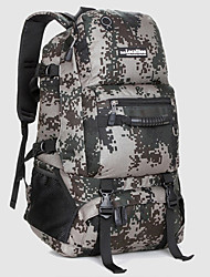 cheap -40 L Hiking Backpack Military Tactical Backpack Wear Resistance Outdoor Camping / Hiking Climbing Leisure Sports Nylon Red Gray Camouflage Green