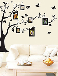 cheap -Decorative Wall Stickers - Plane Wall Stickers Floral / Botanical Living Room / Bedroom / Bathroom