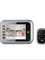 cheap -Factory OEM Wired Built in out Speaker 3.5 inch Hands-free 1280*720 Pixel One to One video doorphone