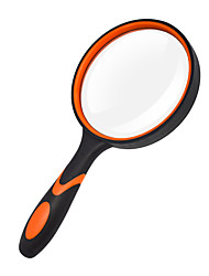 cheap -LS100 Hand Held Magnifying Glass 3X For Office and Teaching