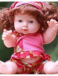 cheap -KIDDING Reborn Doll Girl Doll Baby Girl 24 inch Full Body Silicone Silicone Vinyl - lifelike Handmade Cute Kids / Teen Kid's Unisex Toy Gift