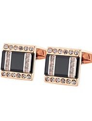 cheap -Cufflinks Classic Basic Brooch Jewelry Rose Gold For Gift Daily