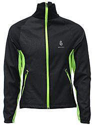 Недорогие -Мужская флисовая куртка с длинным рукавом трикотажное пальто зима открытый ветрозащитный велосипедный мотоцикл