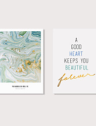 cheap -Print Stretched Canvas Prints - Animals Words & Quotes Modern Art Prints