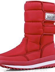 cheap -Women's Boots Flat Heel Canvas / Synthetics Knee High Boots Sporty / Casual Fall & Winter Black / Orange / Green