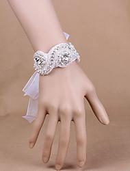 cheap -Wedding Flowers Wrist Corsages Wedding / Party Evening Silk 0-10 cm