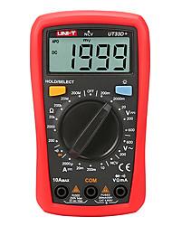 Недорогие -uni-t ut33d + цифровой мультиметр с автоматическим выбором размера ладони переменный ток вольтметр сопротивление амперметра тестер емкости