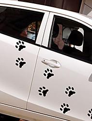 cheap -White / Black Car Stickers Cartoon / Sports / Cute Door Stickers / Car Tail Stickers Cartoon Stickers