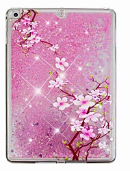 cheap -Case For Apple iPad Air / iPad (2018) / iPad Air 2 Flowing Liquid / Pattern Back Cover Glitter Shine / Flower Hard PC / iPad (2017)