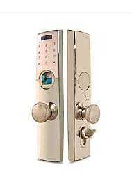 cheap -HOLISHI® Smart Lock Combination Lock Fingerprint Lock/Zinc Alloy lock /Home Security System RFID / Fingerprint unlocking / Password unlocking Apartment / Office / Villa
