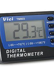 Недорогие -TM803 Портативные / Прочный Датчик температуры -10℃ ~ 50℃ Семейная жизнь, LCD дисплей
