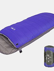 cheap -Sleeping Bag Outdoor Camping Cuboid 0 °C White Duck Down Lightweight Windproof Rain Waterproof Warm Thick Autumn / Fall Winter for Camping / Hiking / Caving Traveling