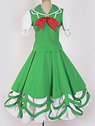 abordables -Inspiré par Touhou Project Cosplay Manga Costumes de Cosplay Japonais Costumes Cosplay Moderne Cache-col / Robe / Costume Pour Homme / Femme