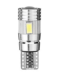 cheap -T10 W5W 501 194 5630 6SMD White Canbus Error Free LED Car Side Marker Lights Wedge Bulb Lamp