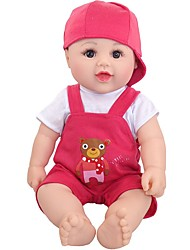 cheap -Doll accessories Reborn Doll Reborn Toddler Doll Baby Boy Cute Kids / Teen Plush Kids Baby Unisex Toy Gift 2 pcs