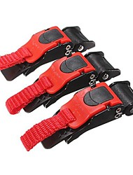 cheap -3x Plastic Motorcycle Clip Chin Strap Quick Release Buckle Autocycle
